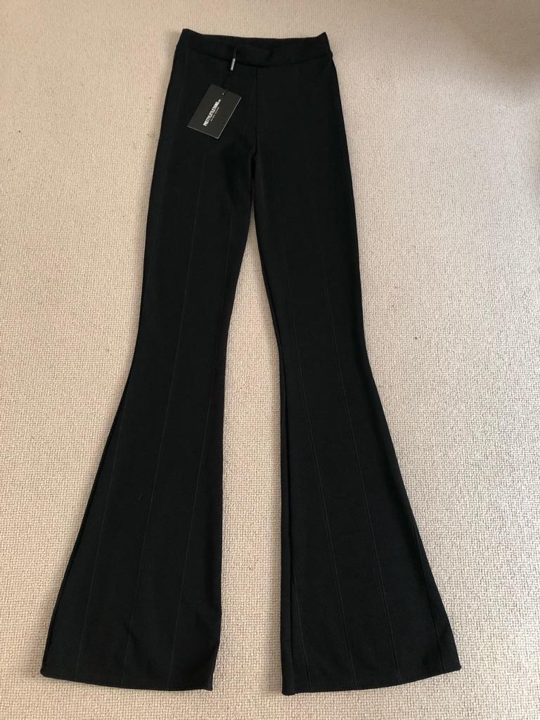 Women's flared bandage trousers PrettyLittleThing size 4