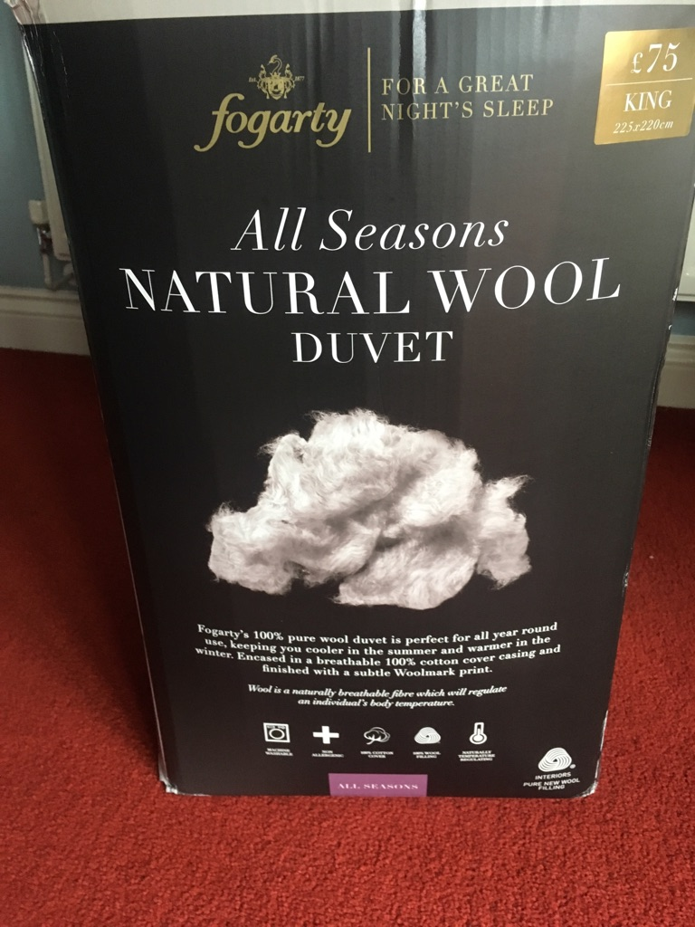 Fogarty All Seasons Natural Duvet