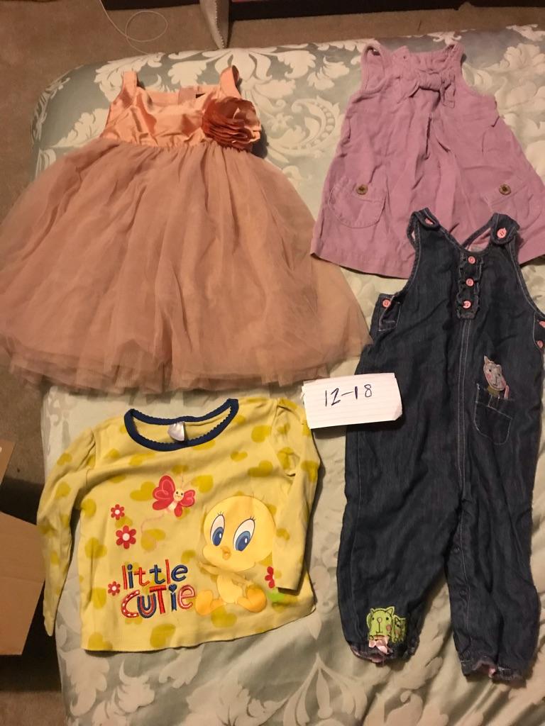 0-16 months girls clothes