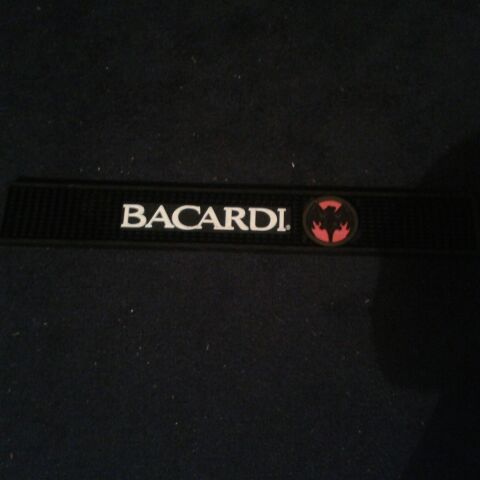 Bacardi drinks mat