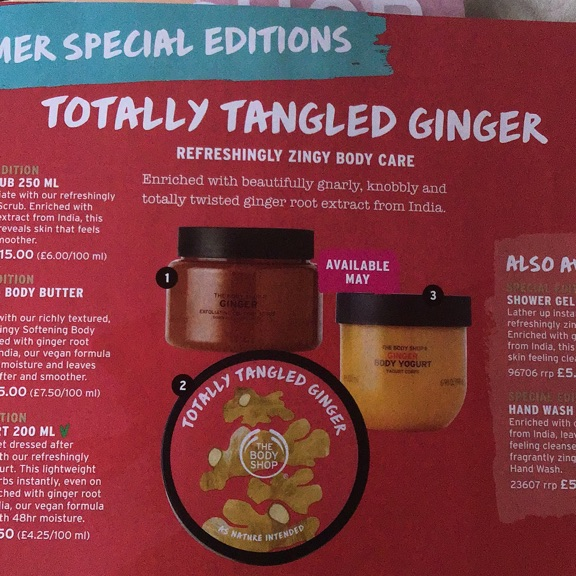 The body shop totally tangled ginger