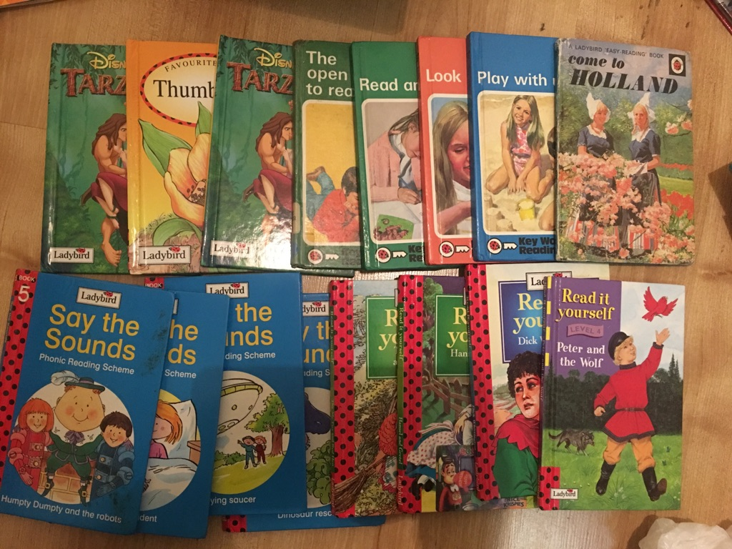 Vintage ladybird books worth over £30