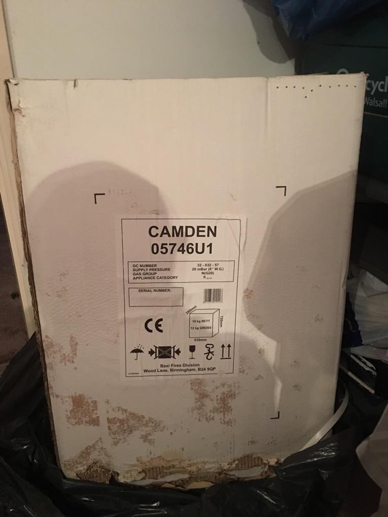Camden gas fire