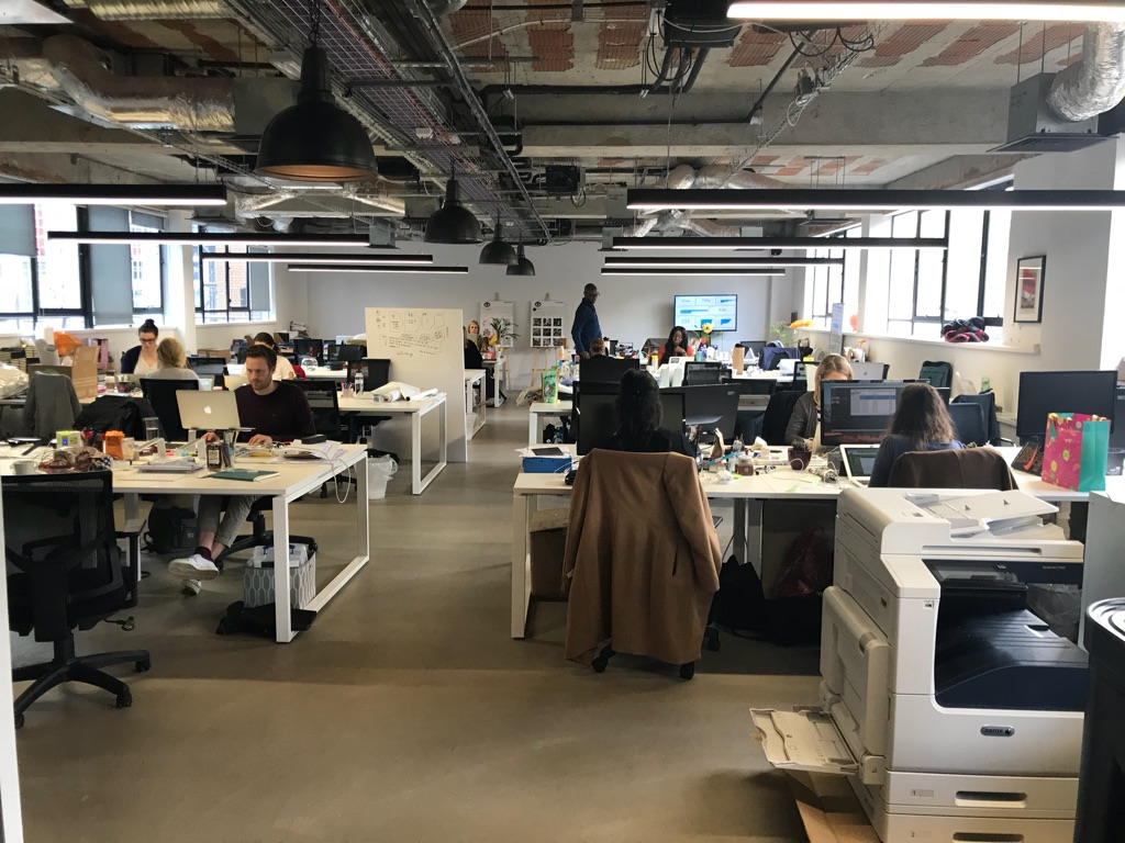 6-22 desks to rent in the heart of Shoreditch