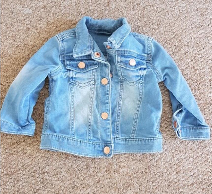 Boys Denim Jacket 6-9 Months
