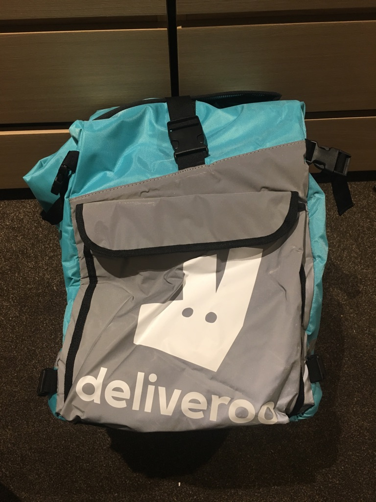 Deliveroo Backpack and Thermal Bag (both new)