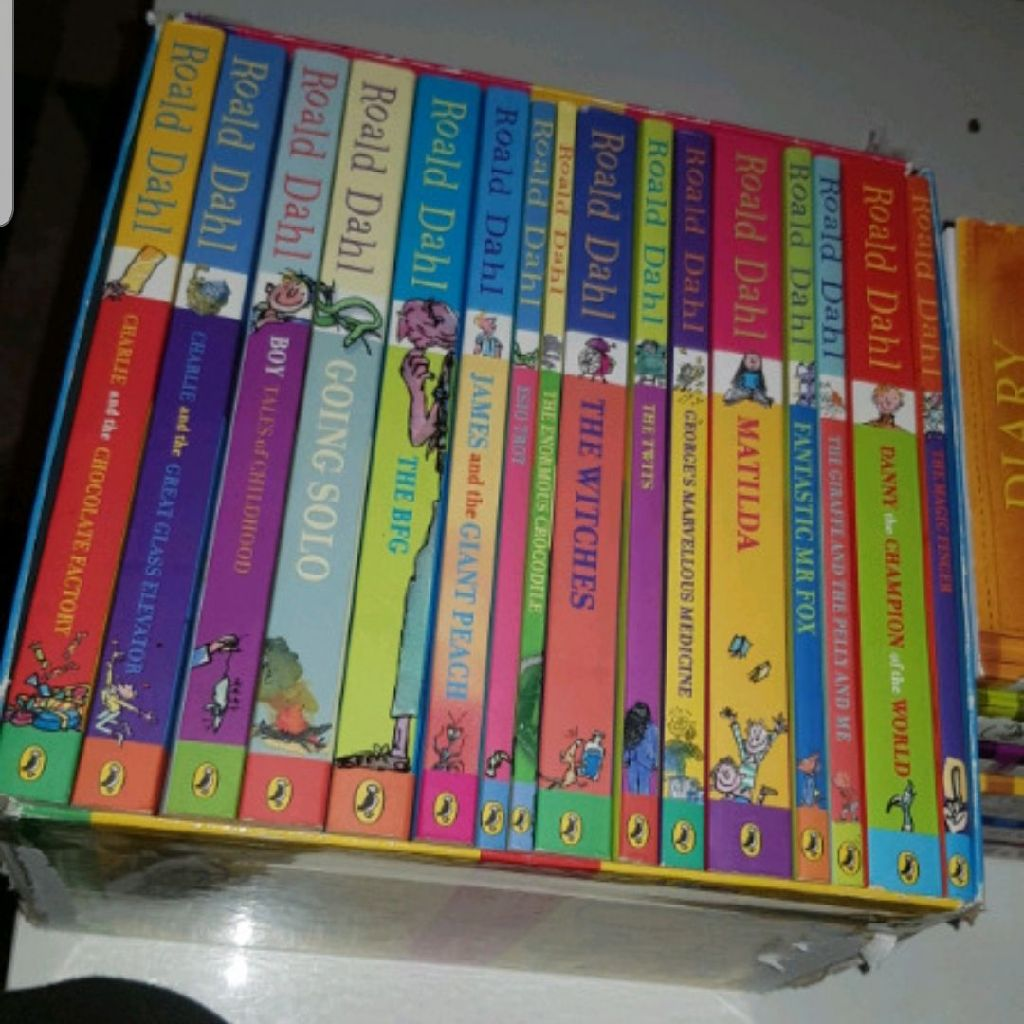 Roald Dahl 16 book Collection