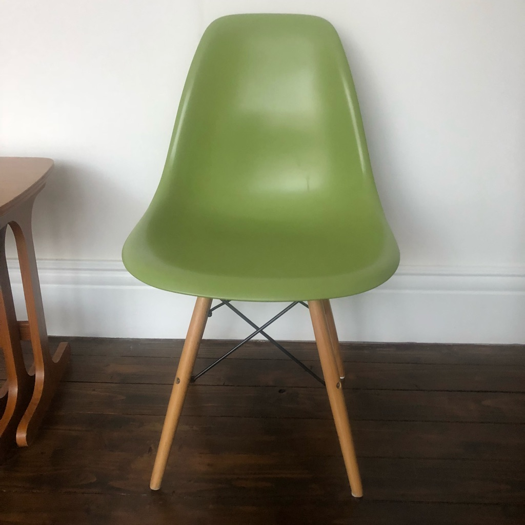 Chair with wooden legs La Redoute
