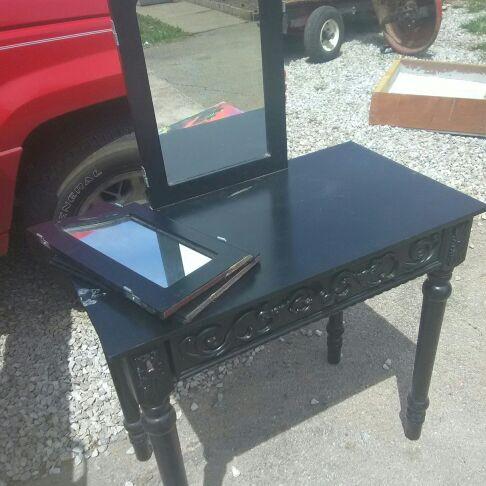 Black Vanity/desk