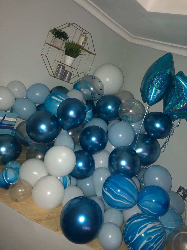 Balloons to collect