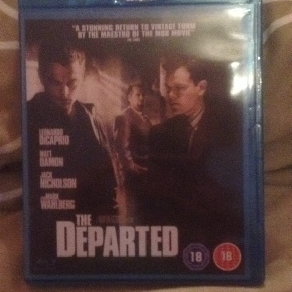 The departed blue ray dvd