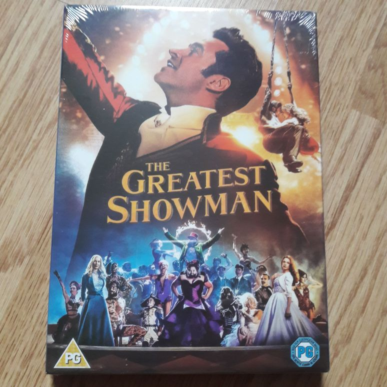 BRAND NEW The Greatest Showman DVD (sealed)