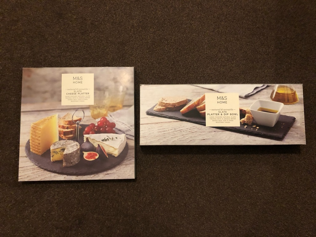 M&S Slate Platters