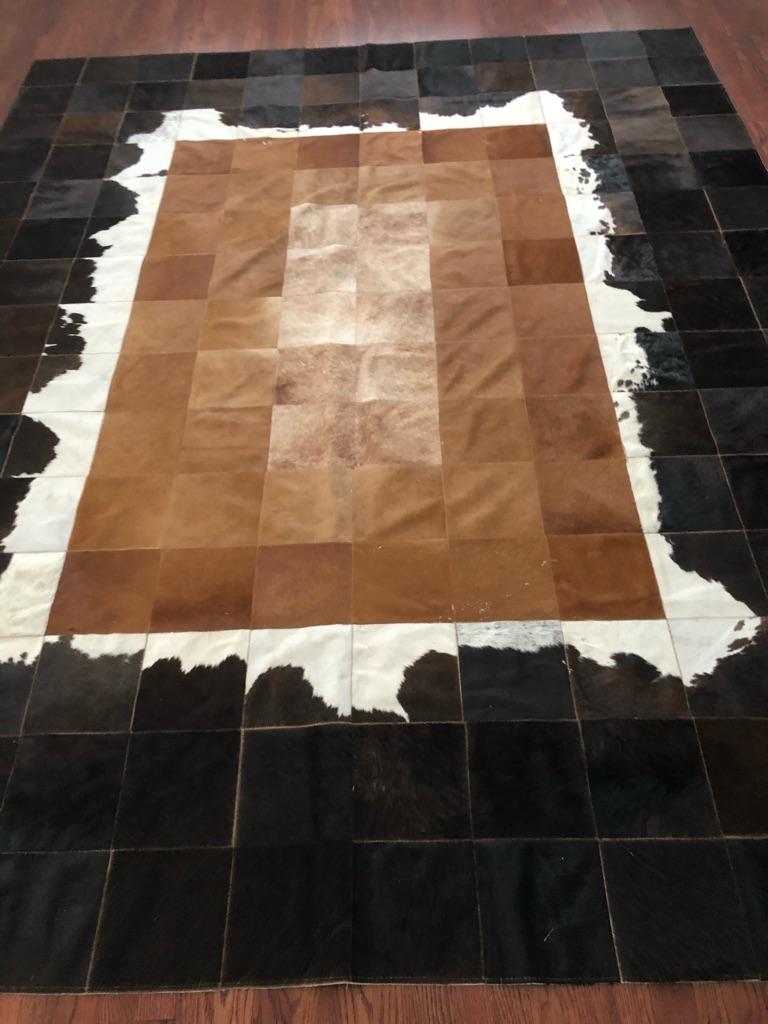 cow carpet
