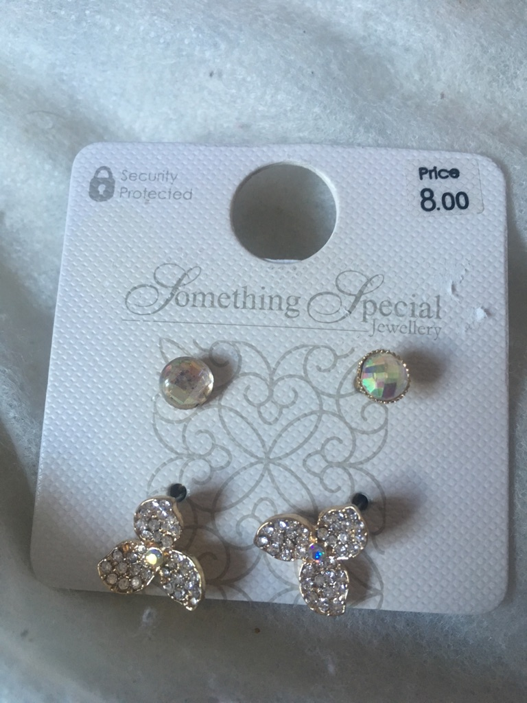 Two pairs of beautiful earrings