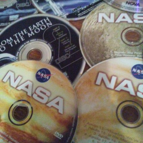 NASA space dvds