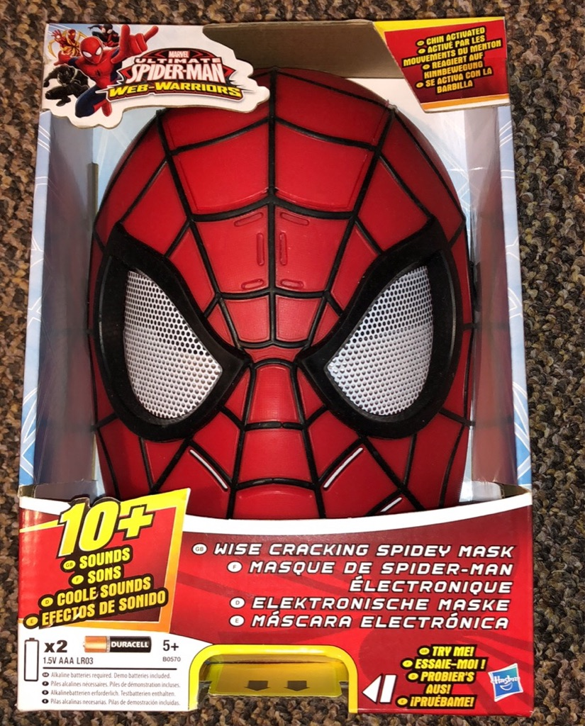 Spider Man mask with voices