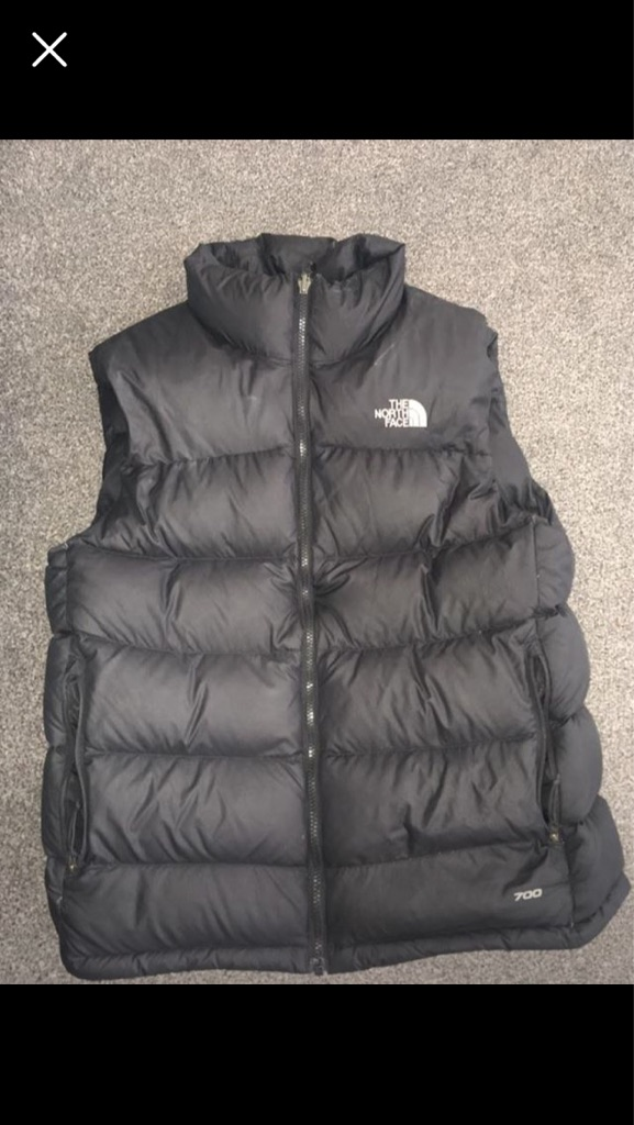 The north face body warmer