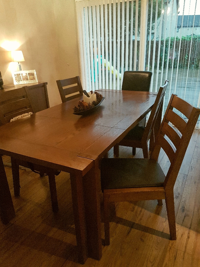 Living room dining furniture set.  Less than 2 years old.