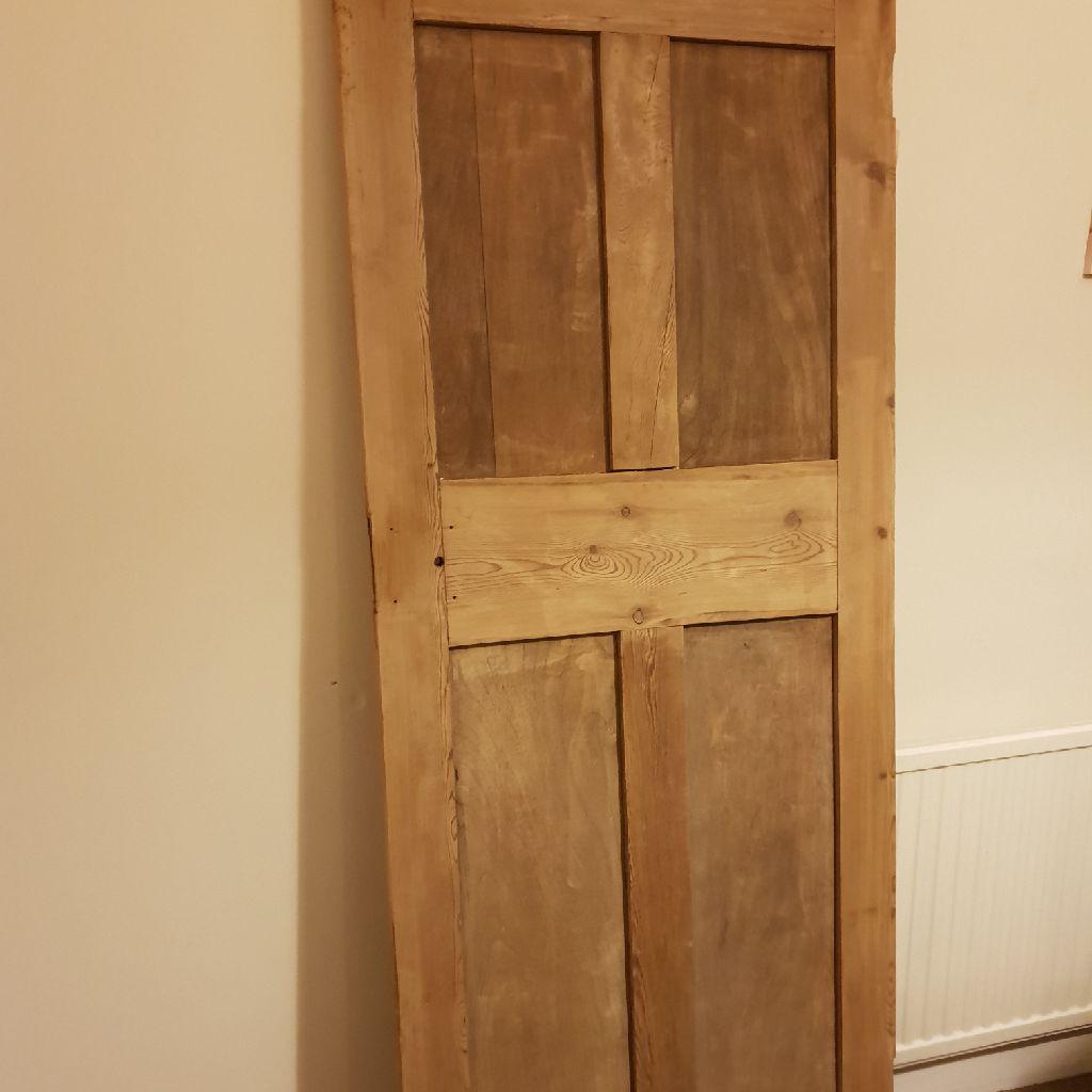 Solid wood Victorian door