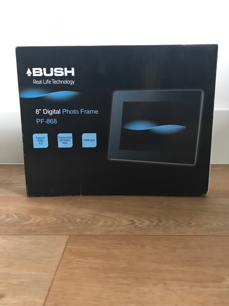 "Bush 8"" Digital Photo Frame"