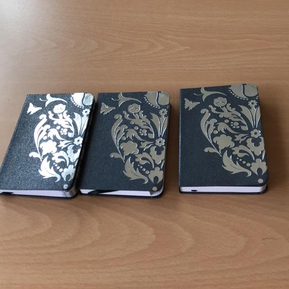 Set of mini note books