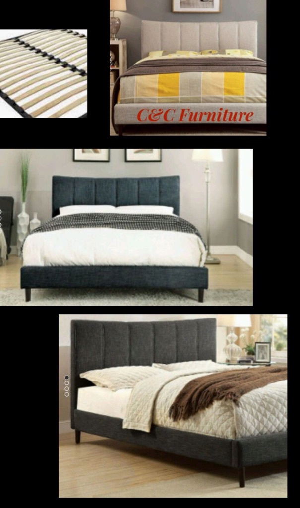 New , Queen Size Platform Bed