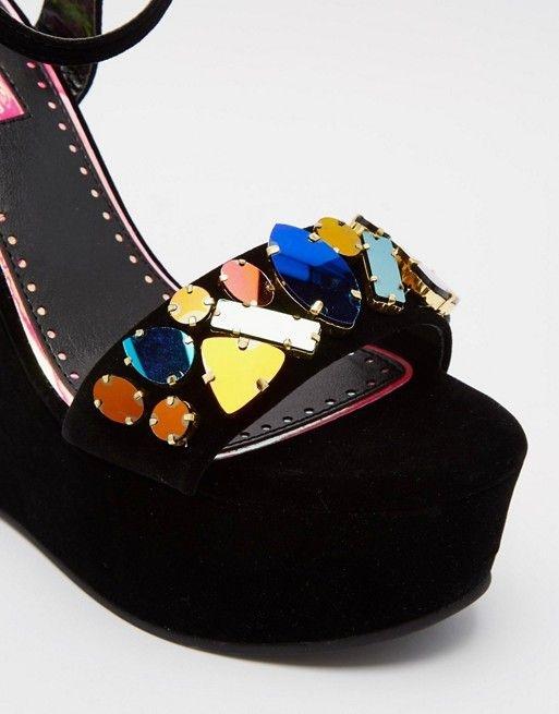 Original Miss KG Gilly wedge sandals