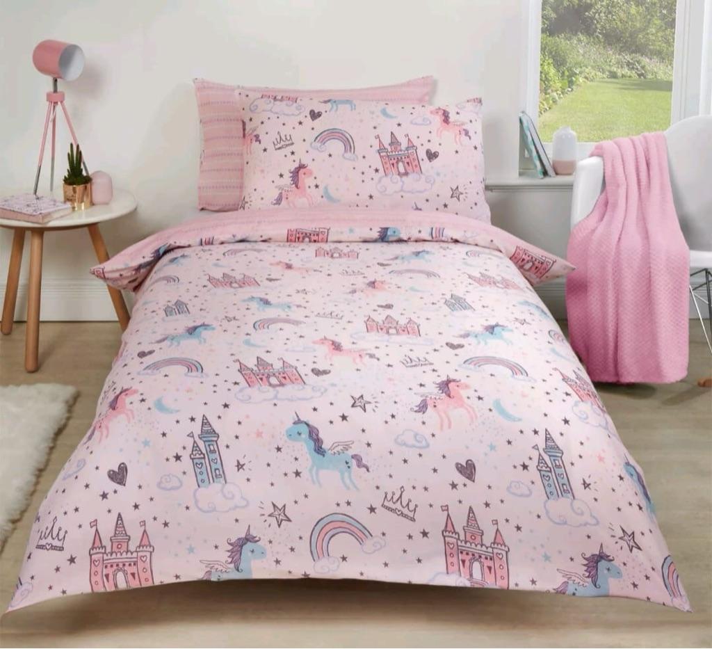 Unicorn bedding £18 🦄