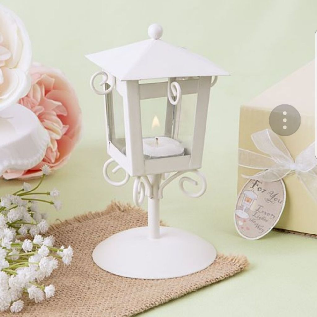 Vintage candle lamp