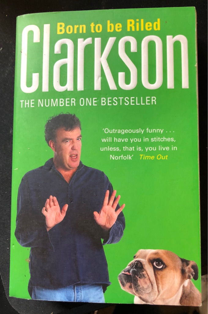 CLARKSON BORN TO BE RILED BOOK