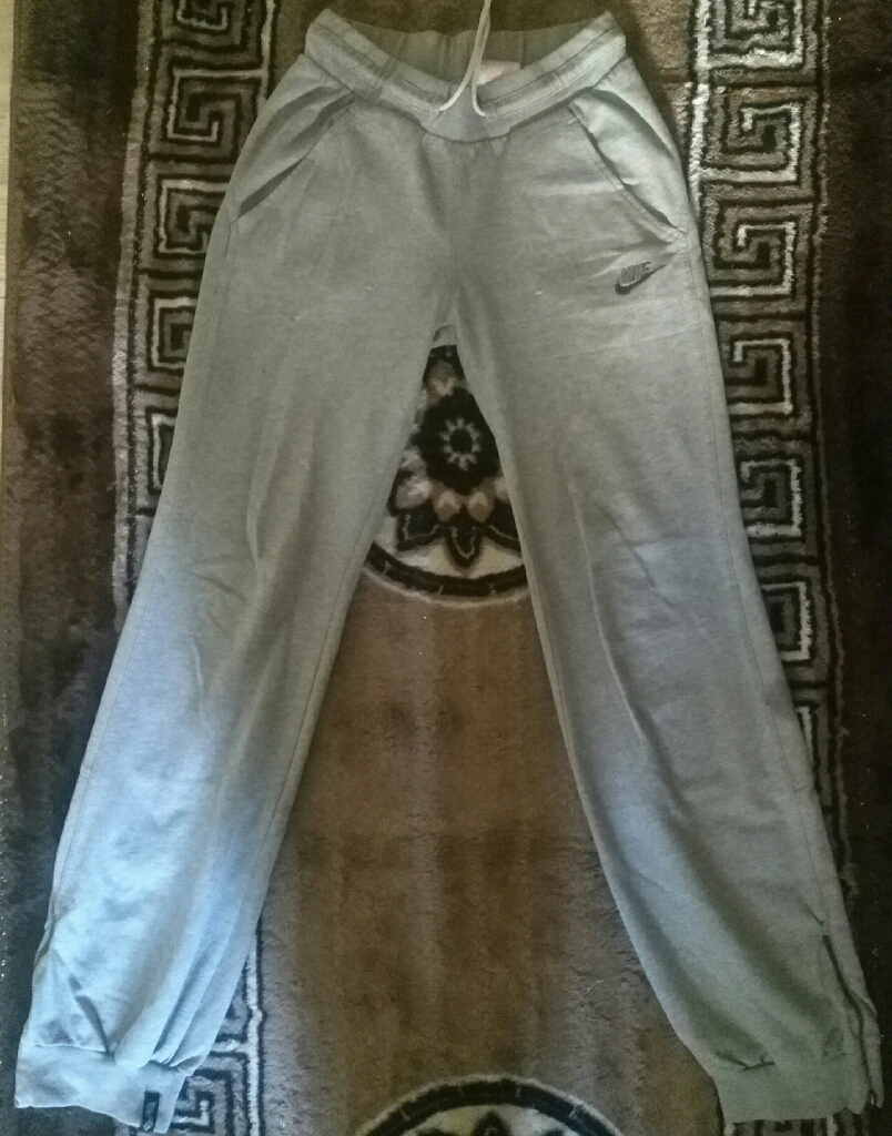 Women's Nike Grey Tracksuit Bottoms XS