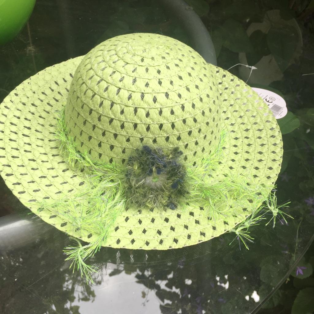 BNWT Girl Boho Chic Summer Beach hat