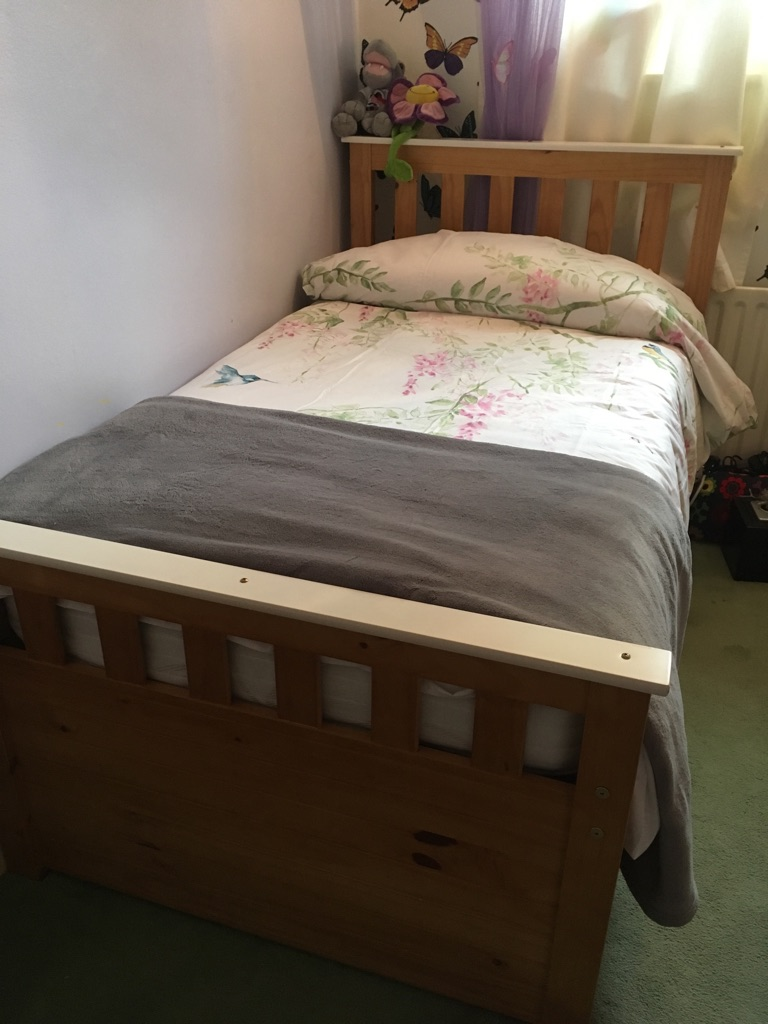 Captain Bed -Solid Pine