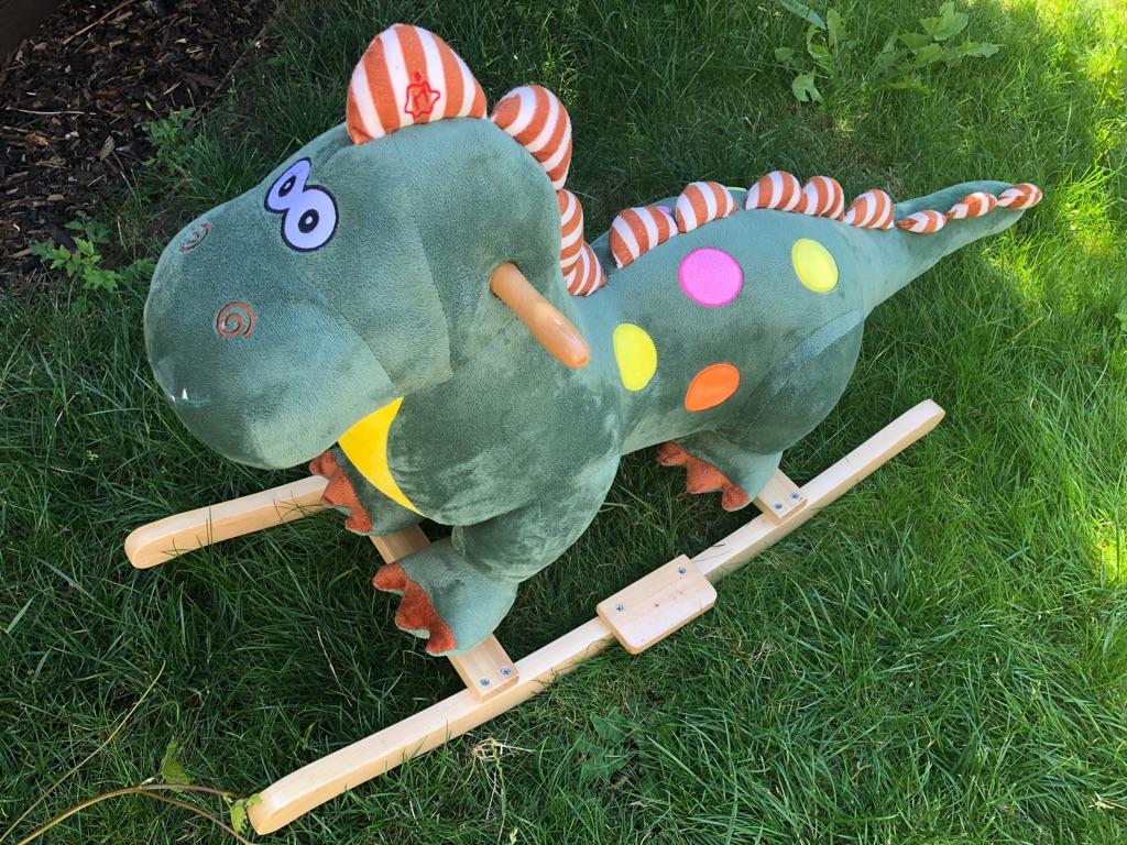 Lovely Rocking Dinosaur Toy