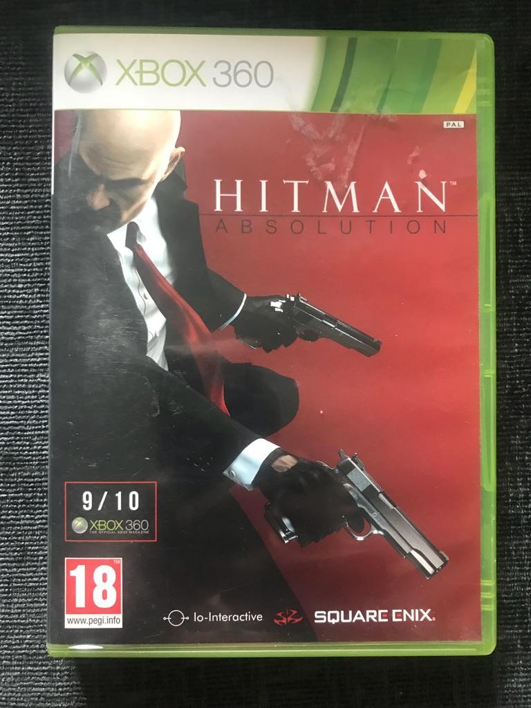Hitman Xbox 360 game