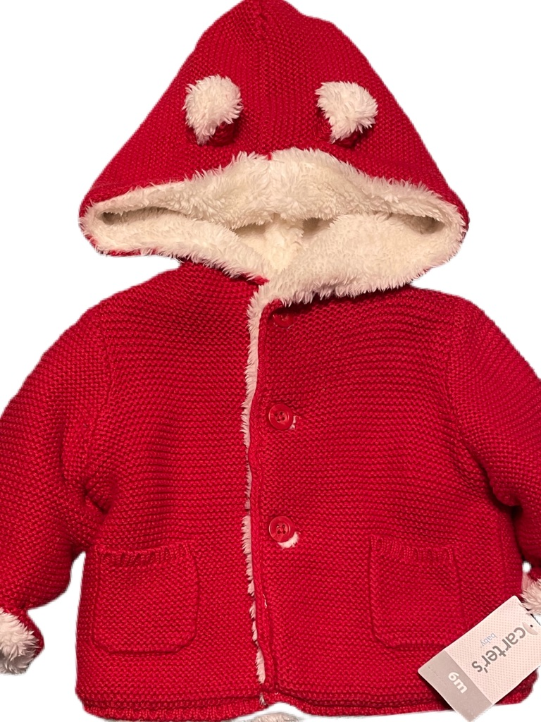 Carter's Sherpa Lined Coat Size 3-6M