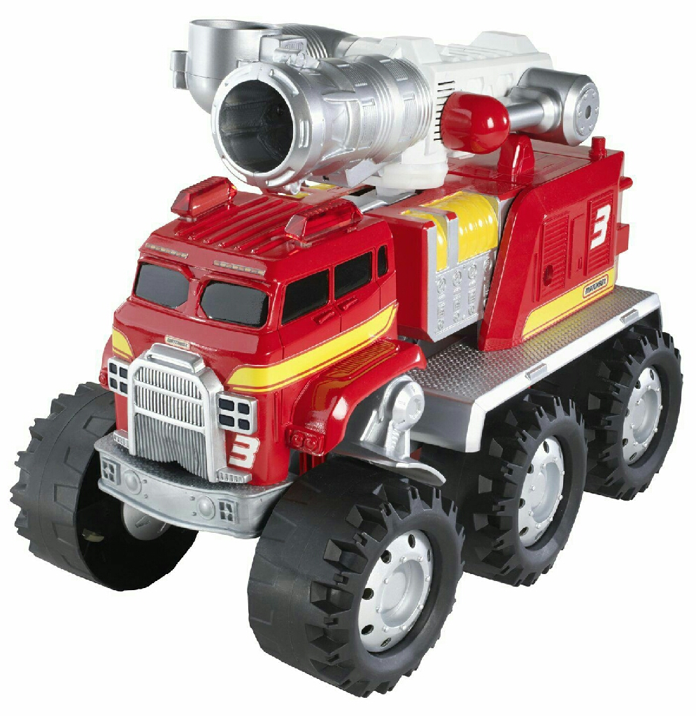 **** Excellent Condition Matchbox Smokey The Fire Truck **** BATTERIES INCLUDED IN PRICE ****