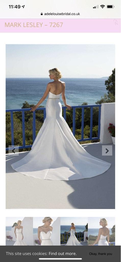 Mark Lesley wedding dress