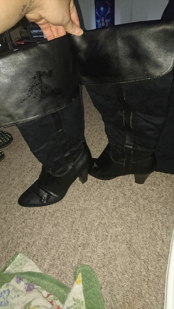 Size 5 high boots