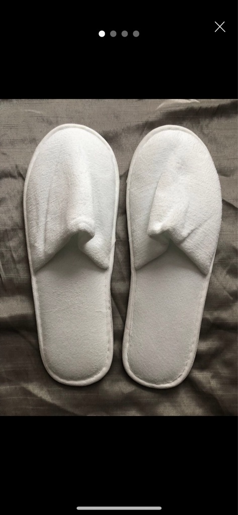NEW His & Hers Slippers (x30) + free gift
