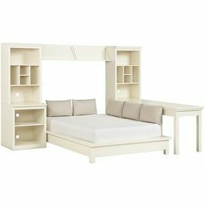 PB Teen Stuff-Your-Stuff Platform Bed Set