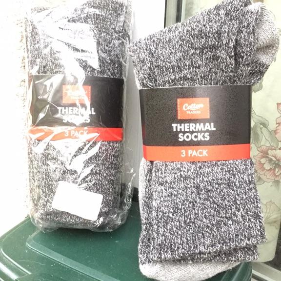 6 pairs thermal socks