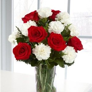 Beautiful Red Floral Arrangement