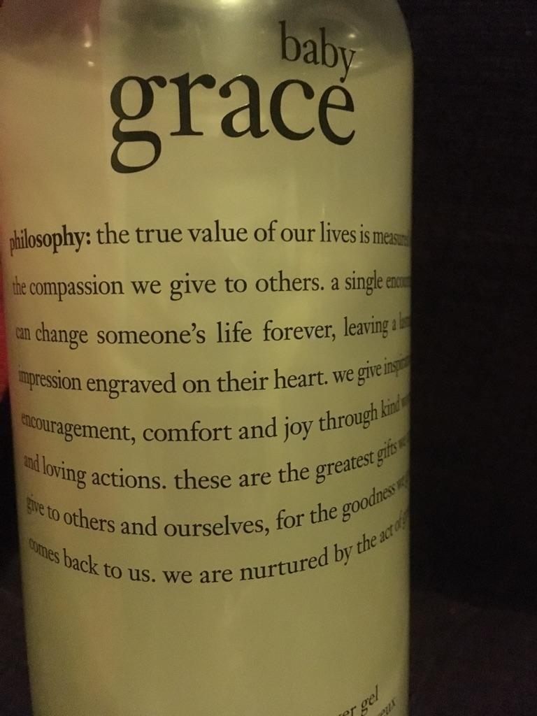 Philosophy 'Baby Grace' Bath & Shower gel
