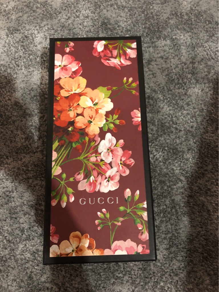 Gucci flower blossom sliders