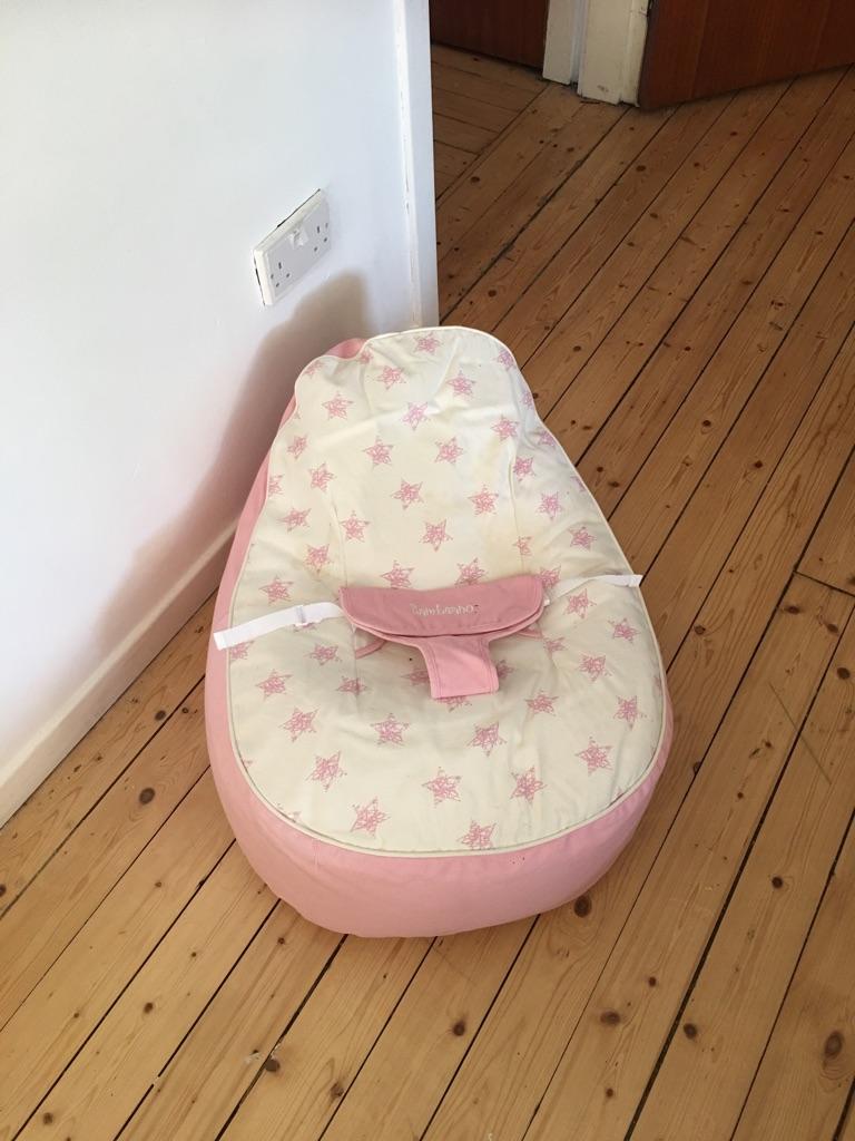 Baby beanbag seat