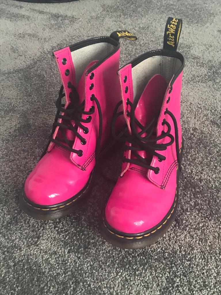 Pink ladies Dr Martens size 3