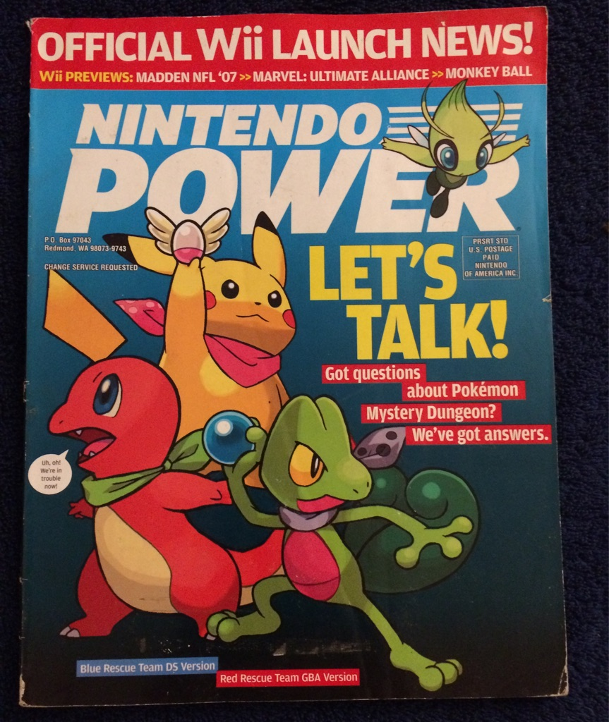 Nintendo Power Magazine Pokémon 🎮🗞