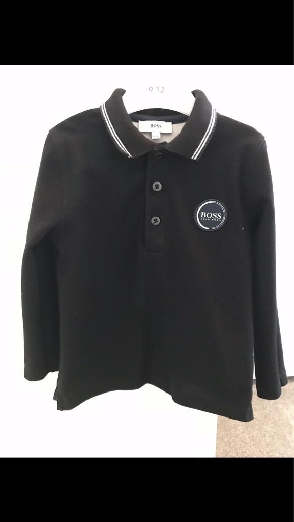 Hugo Boss Black long sleeve top